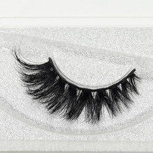 Visofree 3D реального норки ресницы накладные ресницы толстый и крест-накрест ресницы ручной работы макияж Красота блеск упаковка D103