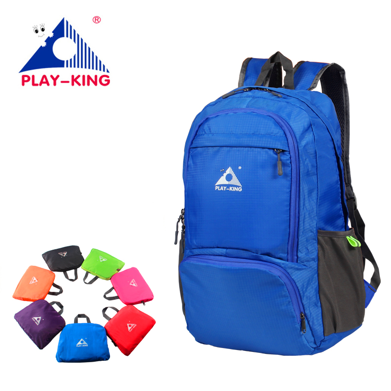 PLAYKING Foldable Travel Backpack Waterproof Mini Travel Backpack Women Men Bag For 2019 Mochila Feminina Camping Trekking