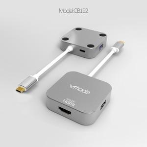 Image 2 - Vmade 최신 4 in 1 미니 어댑터 type c USB C 3.0 허브 hdmi 지원 오디오 및 비디오 전송 삼성 s8 용 미니 컨버터