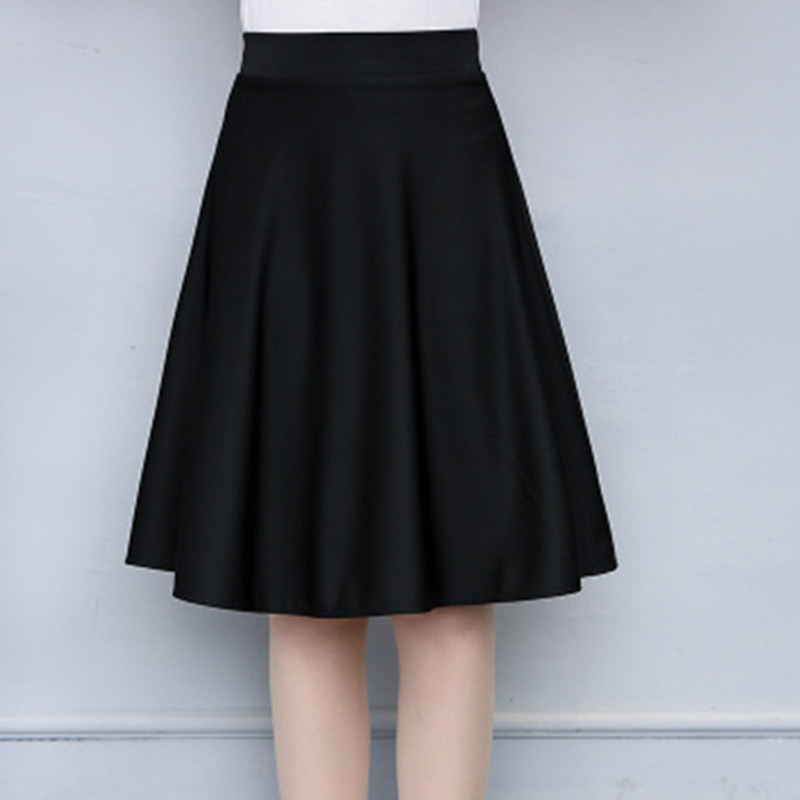 School Girls Skirts baby girl skirt Teenage Kids Black Dancing Child Skirt Clothes girls single breasted raw hem skirt