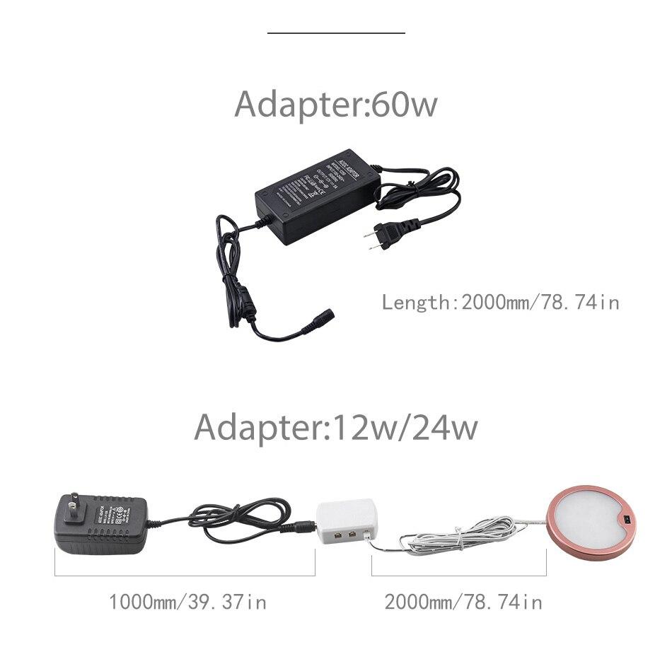 SMD2835 LED Chips PIR Sensor Lamp Kitchen Wardrobe Closet Motion Sensor 12V DC Under Cabinet Lights 3W Cabinet Night Lighting (13)