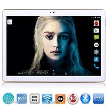 2017 Nueva 10 pulgadas Octa Core 3G de la Tableta 4 GB RAM 32 GB ROM 1280*800 Cámaras Duales del Androide 5.1 de la Tableta de 10.1 pulgadas Libre de DHL gratis