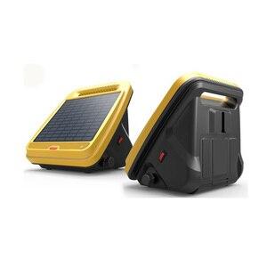 Умная солнечная электрическая изгородь, зарядное устройство, литиевая батарея, устройство для фехтования, для сельского хозяйства, ферма, э...