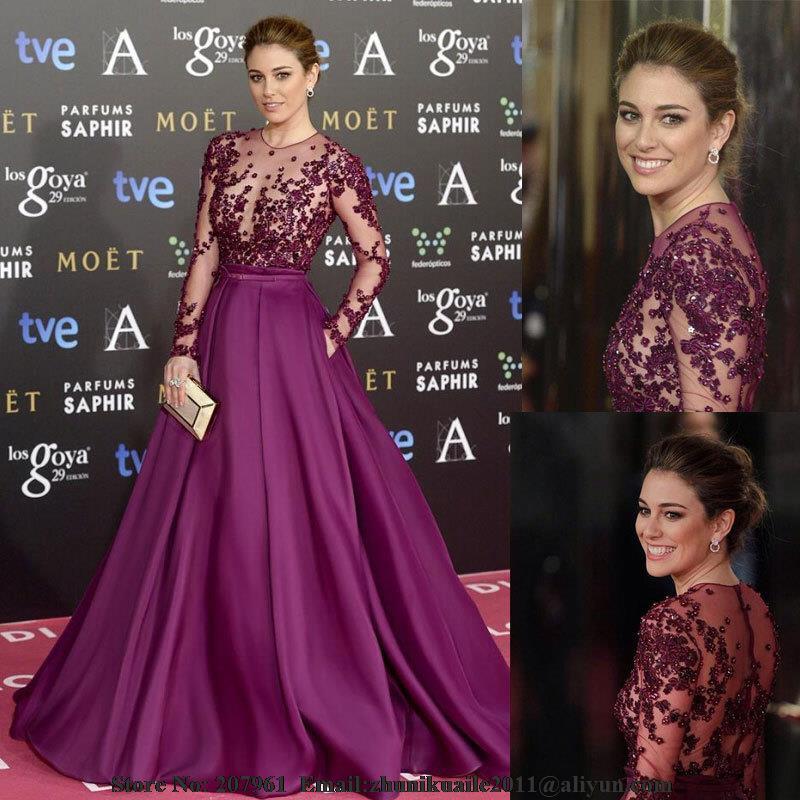 Popular Long Dark Purple Prom Dresses-Buy Cheap Long Dark Purple ...