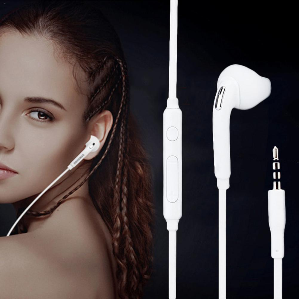 3.5 mm  Phone Wired Controlling Bass Headset In-ear Type Sound Adjusting