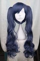 Black Butler Kuroshitsuji Ciel Phantomhive Cross dressing Girl Drak Blue Cosplay Wig