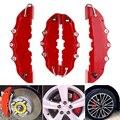 Высококачественный ABS пластик 3D автомобильный сетевой полезный Универсальный Автомобильный тормозной диск Тормозной суппорт Чехлы задний...