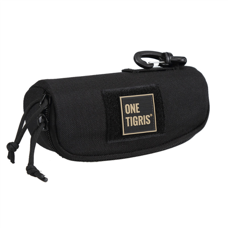 OneTigris Tactical Molle Glasses Carrying Case Outdoor Portable Sunglasses Eyewear Box Shockproof Protective Goggles Storage Box