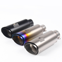 Universal 51mm 61mm Exhaust With Laser Marking Muffler Escape For Z750 Z800 S1000RR CBR1000RR ZX-6R ZX-10R TMAX500 zx series smart sensors zx l n sensor head with amplifier laser sensor