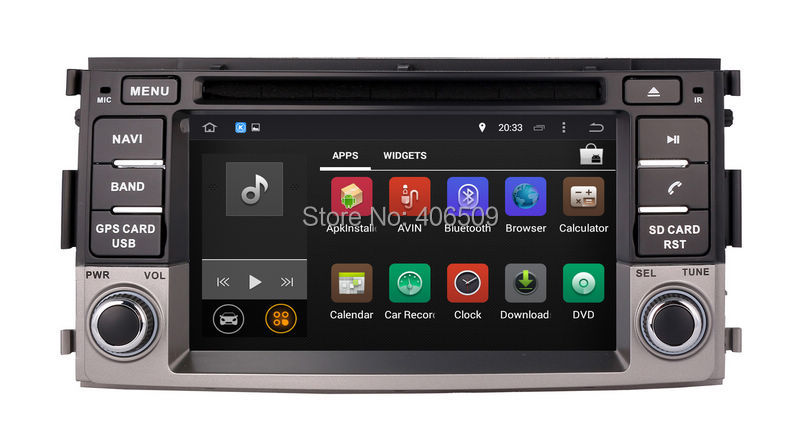 Android 7.1 Car DVD Player for Toyota Rush 2006 2015 with GPS Navigation Radio BT USB MP3 AUX