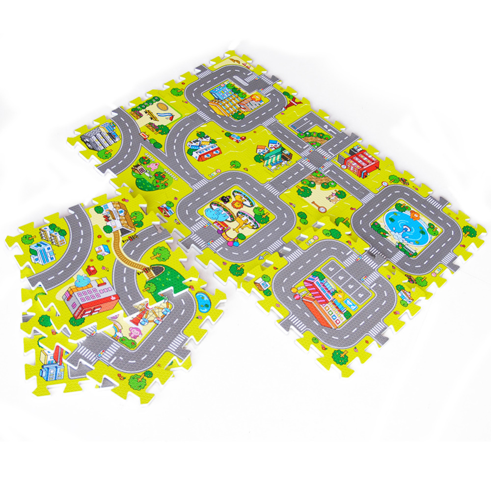 Baby EVA Foam Play Puzzle Mat for kids Interlocking Exercise Tiles Floor Carpet Rug Each 30X30cm18 9/18pcs Playmat Crawling Mat