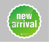 Middle size new arrival POP Explosive card promotional sign price label tag store atmosphere point