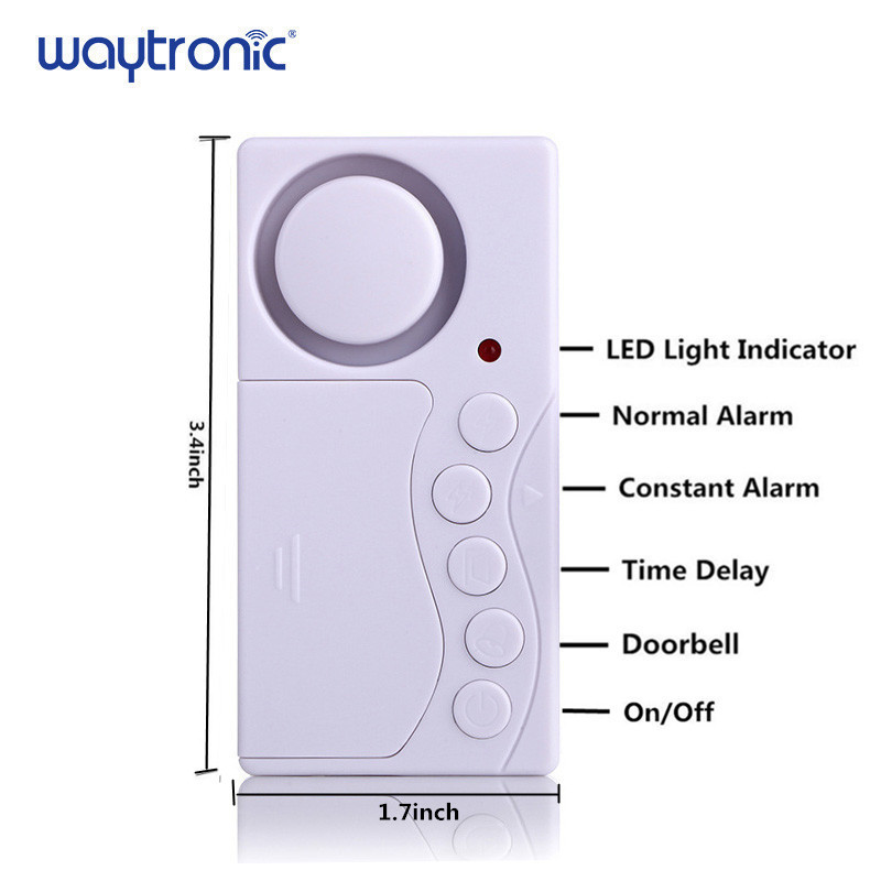 Image 2 - Wireless Home Window Door Burglar Security  Sensor Alarm System Magnetic Sensor for Home Security System Standalone Magnetic-in Sensor & Detector from Security & Protection