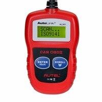 Escáner Herramienta de Diagnóstico Auto de Autel AutoLink AL301 OBDII/CAN herramienta de diagnóstico Del Escáner OBD2 OBDII Lector de Código Como AL319 Lector de código de