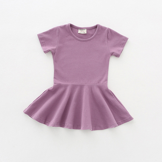 c230fe496f5 Baby clothes2018 summer baby dress cute baby girls 1st birthday Party dress  for girls 1 year casual dress infant child dresses