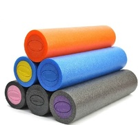 high quality PE 30cm 12 inch yoga Blocks massage Roller Pilates shaft foam rollers gym exercise indoor Fitness washable