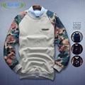 Los hombres de la camiseta 2015 de la Nueva Alta calidad Boy Otoño chandal hombre Sudadera Pullover Hoodies Hombres Mujeres Largo-manga de la Marea de Los Hombres
