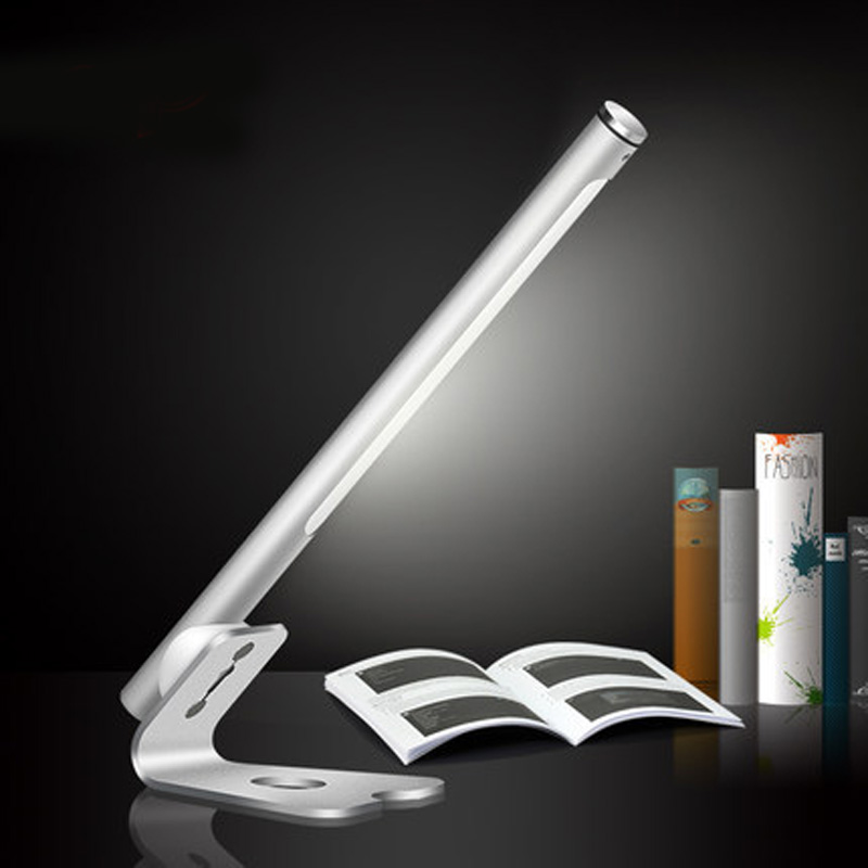 Camping portable lamp children eye care led desk lamp college dormitory charging desk lamp usb work light creative fashion led touch small lamp dc plug eye study with college students dormitory dormitory goggle led book