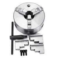 Lathe Chuck 8 3 Jaw Self Centering w/Reversible Jaw K11 200A Self centering Lathe Parts Diy Metal Lathe Accessories