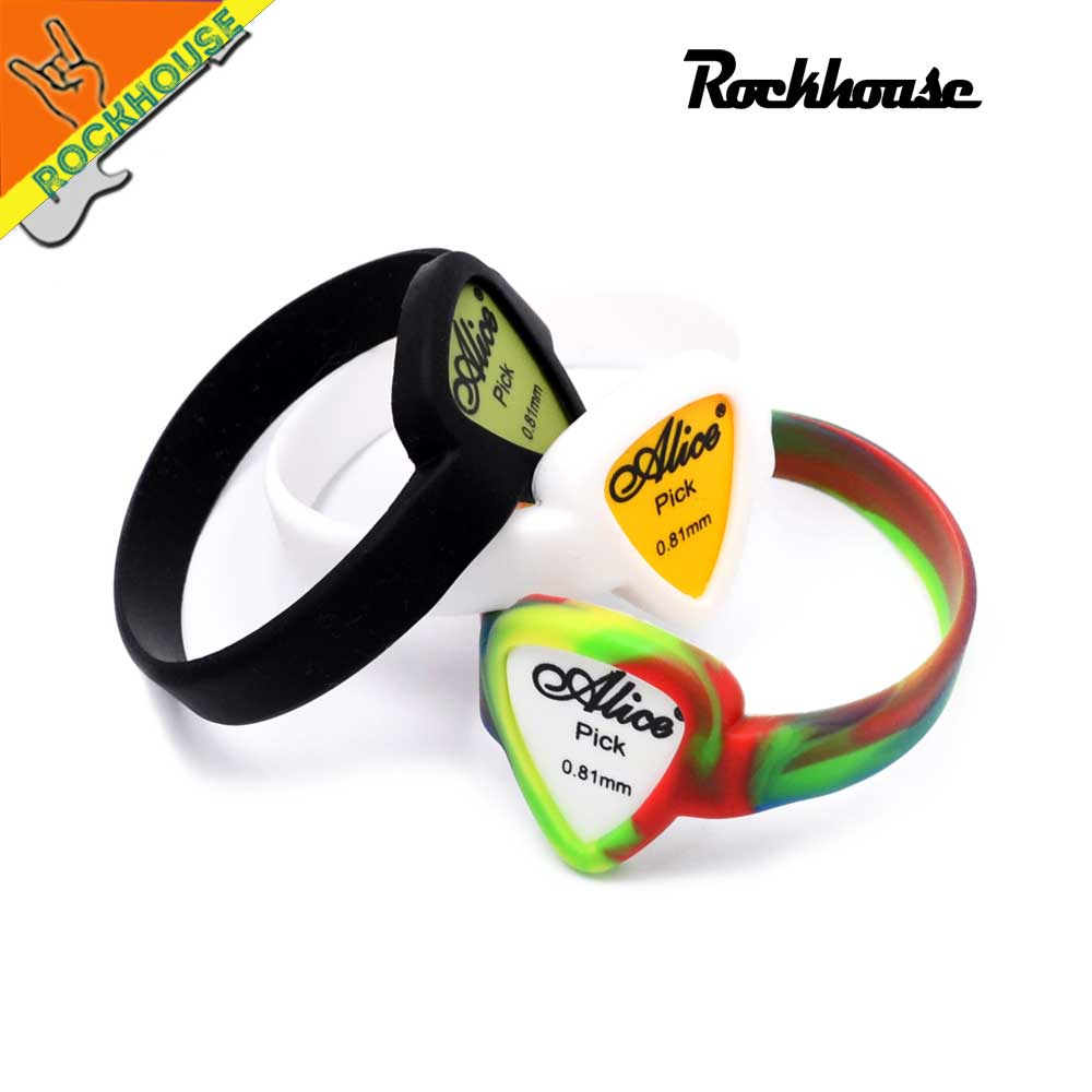 Guitar Picks Bracelet Picks wrist strap Pick bag guitarra picks ring Water proof Free Shipping