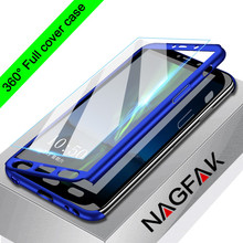 luxury 360 full cover phone case for samsung galaxy s6 s7