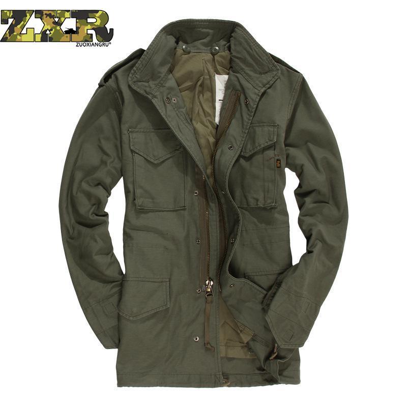 Survival Militaire Jas Camouflage Army Fans Jas Herfst Winter Amerikaanse Klassieke mannen Pak Tactische Jas Hoge Kwaliteit-in Jassen van Mannenkleding op  Groep 1