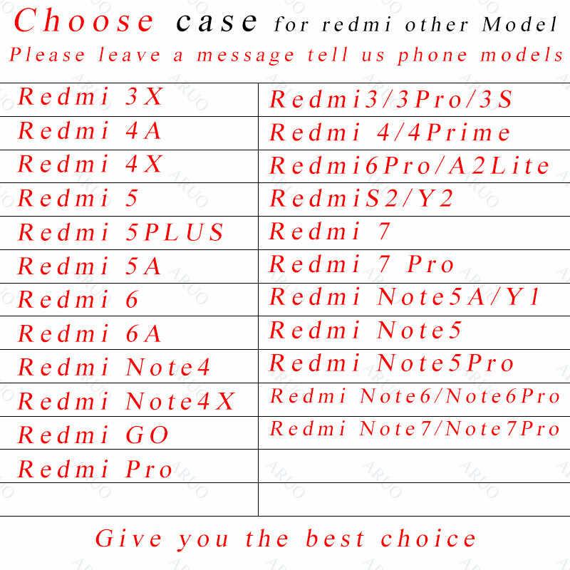 Rosa verde Glitter dourado Bonito claro Caso capa para o Xiaomi Redmi 7 7Pro IR 6 3 S Pro S2 4A 4X 5A 6A 5 Plus Nota 7 7Pro 5A 6 4X 6Pro