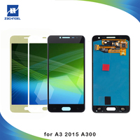 A300 LCD For Samsung A3 2015 Screen A300 A300M A300F LCD Display Digitizer with Touch Screen Brightness Can Adjust Replacement