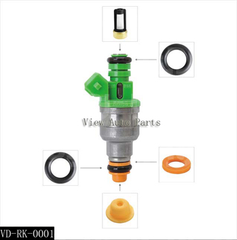 Free Shipping  100 sets Auto Parts Fuel Injector Repair & Service Kits For EV1 440cc/min TURBO 42 LB/HR    VD-RK-0001 free ship turbo cartridge chra core gt2256v 751758 751758 0001 707114 for iveco daily for renault mascott 00 8140 43k 4000 2 8l