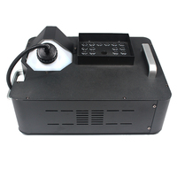 1500W RGB 3in1 512 DMX LED Fog Machine Smoke Machine 24X3w Light Fogger RGB 3in1 LED Colorful Fog Machine