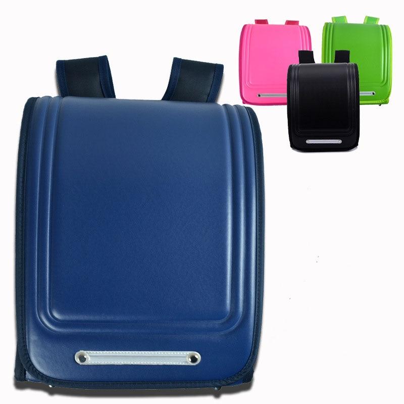 New Waterproof PU Leather School Bags Children Orthopedic font b Backpack b font font b Kids
