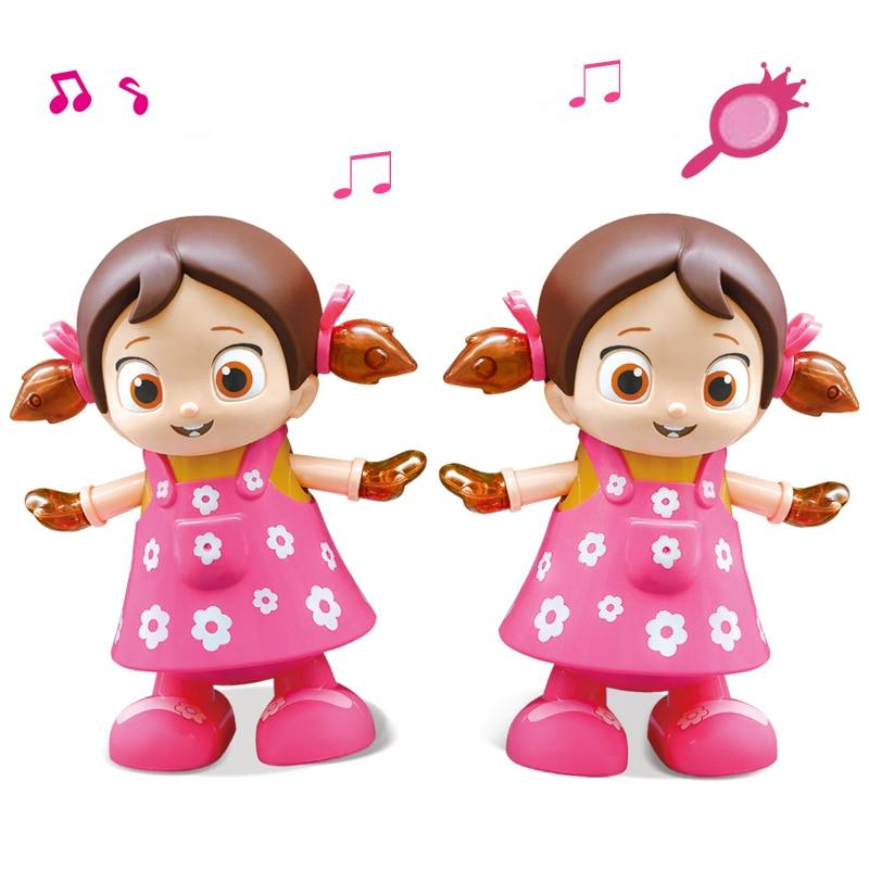 Električni hoja ples petje lutke lol igrače za dekleta ponovno - Lutke in dodatki