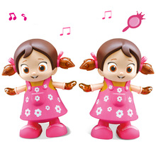 Baile eléctrico que camina muñecas cantantes Lol Toys para niñas Reborn Doll Light Music Early Educational Lol muñecas para niñas