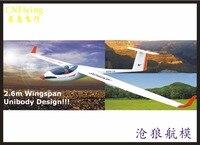 TW759 1 Volantex ASW28 ASW 28 2600mm Wingspan EPO RC Sailplane Glider Airplane Model have PNP Version or KIT Version)