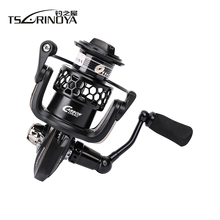 TSURINOYA TSP3000 Full Metal Spinning Fishing Reel 11+1BB 5.2:1 Lure Wheel Carretilha De Pesca Peche Saltwater Carp Fishing Coil