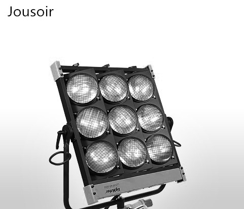 Film And Television Drama Group 9 Headlights, Movie And TV Studio 9 Lights 1000W*9 Viewer Lamp PAR Lamp 1000W230VGX16  Cd50