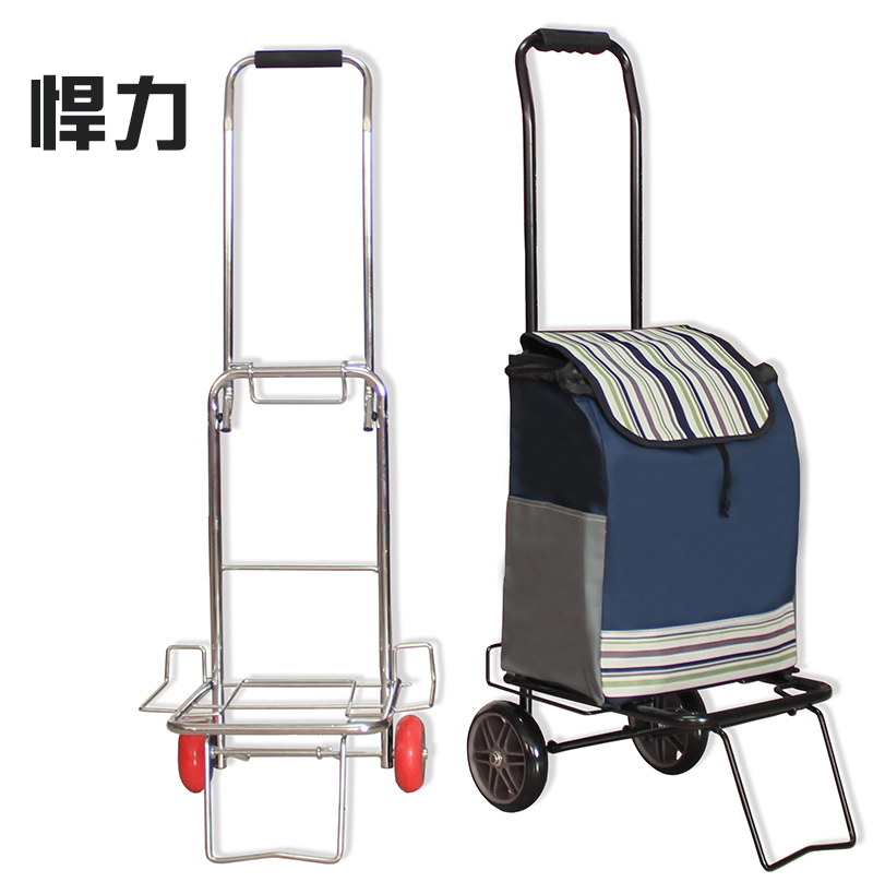 a9485e34bf3a Special forces defended portable folding trolley car luggage cart ...