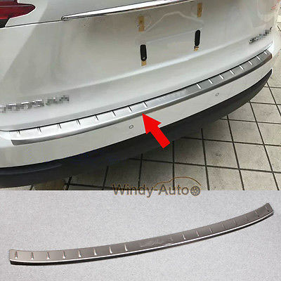Rear Bumper Trunk Sill Plate Trim For Lexus NX200t NX300h 2015 2016 2017 2018