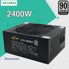 Mining case ETH miners power supply 2400W high power graphics card power supply 230V output