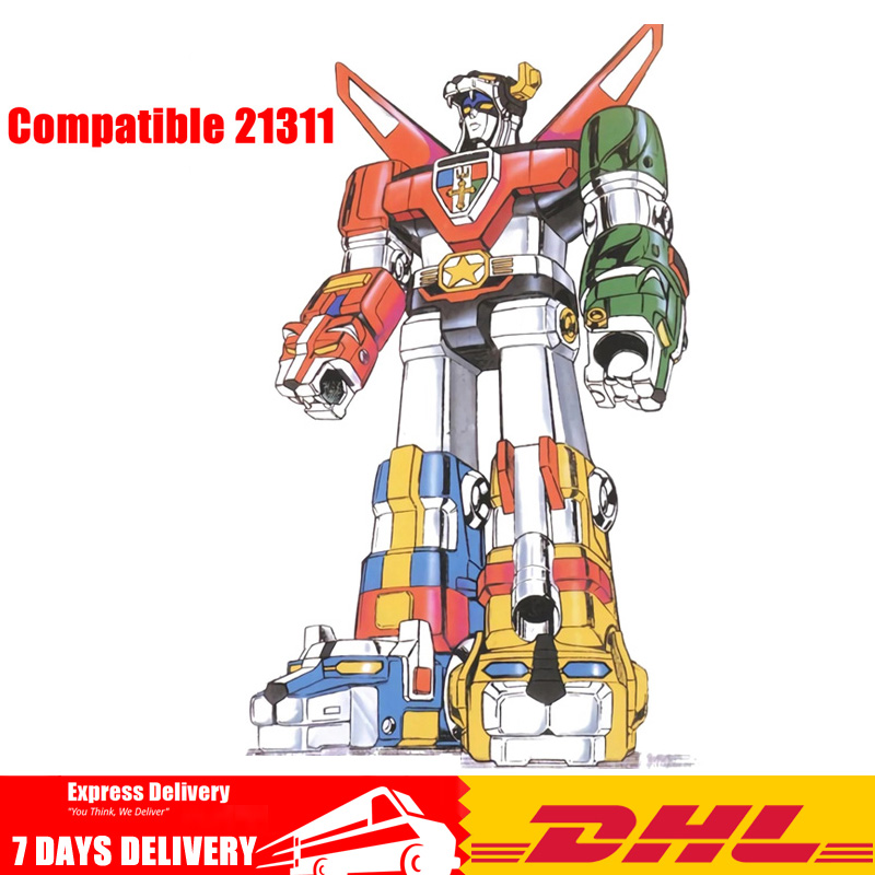 IN Stock Compatible LegoINGlys 21311 Voltron Defender of The Universe Model Building Kits Blocks Bricks Robots Toys Gifts starpad for cfmoto spring motorcycle 650 series air filter