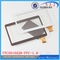 New 10.1'' inch tablet pc vtc5010A28 A3LGTP1000 tablet vtc5010A28-Fpc-1.0 touch screen panel Replacement Parts Free shipping