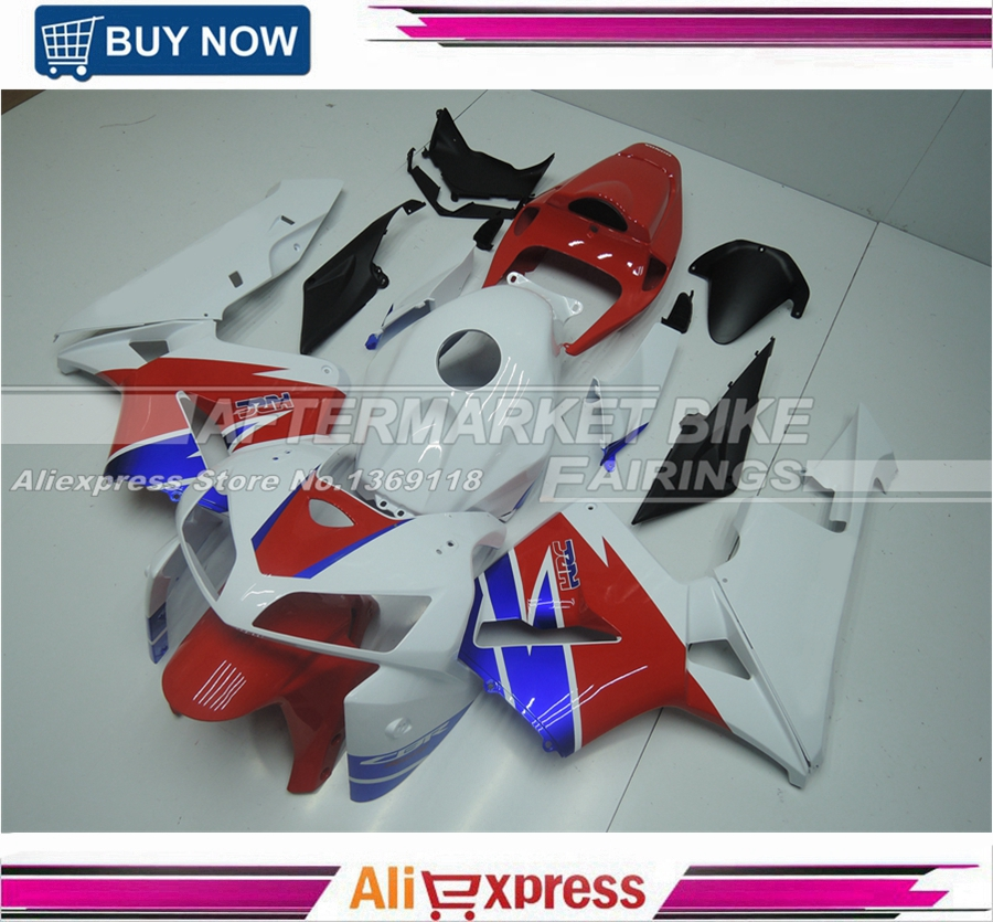 Us 449 0 New Hrc Decals Aftermarket Oem Quality Fairing Body Kits For Honda Cbr600rr 2005 Injection Mold 2006 In Covers Ornamental Mouldings From