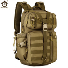 Outdoor Tactical Backpack 900D Waterproof Nylon Army Military Hunting Camping Multi-purpose Molle Hiking Travel Sport Bag 30L цена 2017
