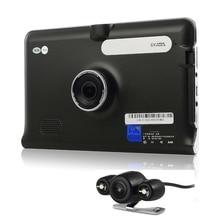 7 pouce GPS WiFi Android De Voiture Camion Véhicule GPS Navigation DVR Enregistreur vidéo Vue Arrière Parking Caméra Allwinner Quad Core 16G GPS