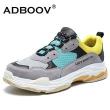 ADBOOV Fashion Sneakers Men Women Mesh Breathable Couple Shoes Big Size Unisex Dad Shoes Dames Schoenen Summer Casual Shoes