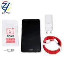 Oneplus 3 т 3010 5.5 HD One Plus Android 6.0 3400 мАч 3 т telefono movil Snapdragon 821 Quad Core 6 ГБ + 64 ГБ NFC сотовый телефон