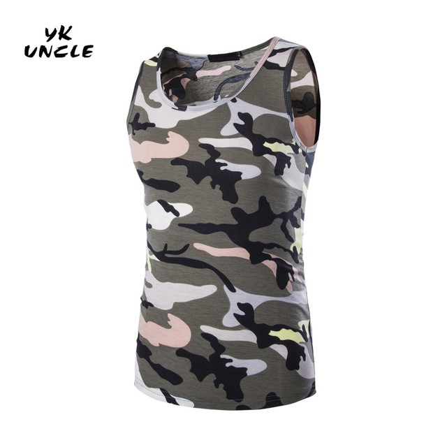 72b4c367b27 Camouflage Clothing 2016 Summer Men Women Army Camouflage Tank Top Casual  Slim Fitness Tops Mens