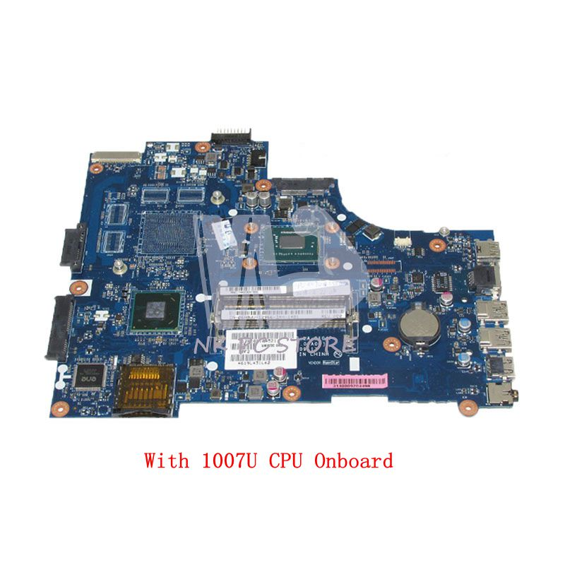 NOKOTION VAW00 LA-9104P CN-06H8WV 06H8WV 6H8WV Laptop Motherboard For Dell inspiron 15 3521 5521SR109 MAIN BOARD 1007U CPU DDR3 nokotion laptop motherboard for dell vostro 3500 cn 0w79x4 0w79x4 w79x4 main board hm57 ddr3 geforce gt310m discrete graphics