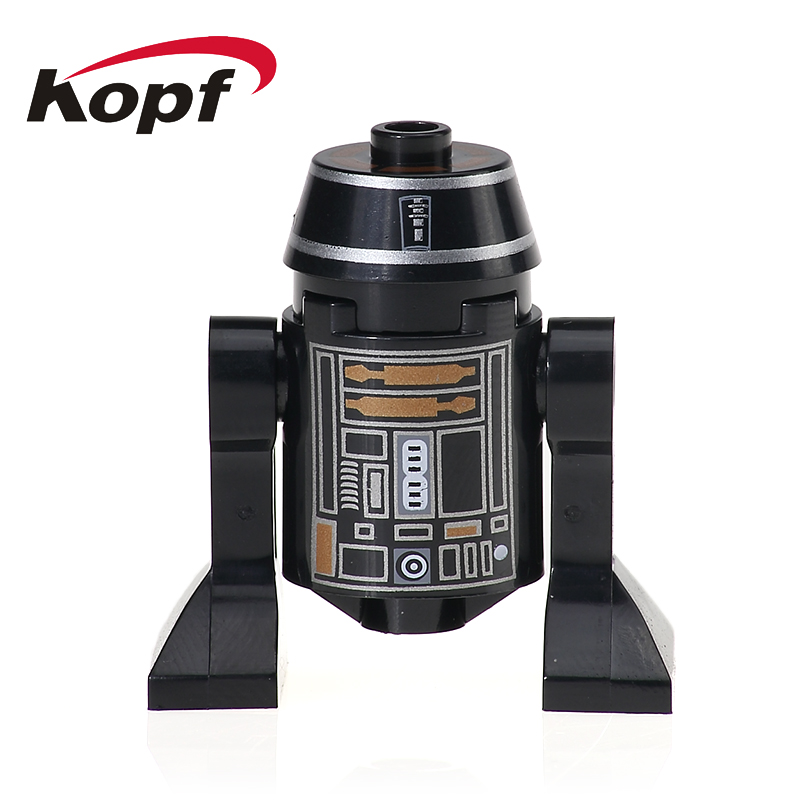 Single Sale Building Blocks R2D2 BB8 RSJ2 Star Wars Smart Robot RSD8 C110P Classic Bricks Collection Toys for children XH 527