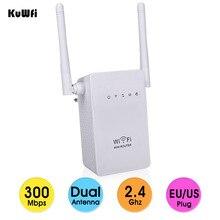 EEE802.11 b/g/n 표준 2.4Ghz 300Mbps 무선 미니 라우터 AP 리피터 wifi 신호 부스터 지원 WPS 2 * 3dBi 안테나